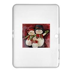 Snowman Family No  2 Samsung Galaxy Tab 4 (10 1 ) Hardshell Case