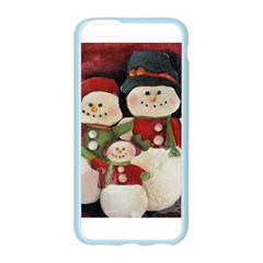 Snowman Family No. 2 Apple Seamless iPhone 6 Case (Color)