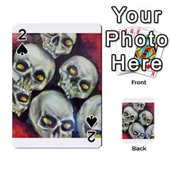 Halloween Skulls No.1 Playing Cards 54 Designs