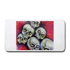 Halloween Skulls No 1 Medium Bar Mats