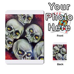 Halloween Skulls No.1 Multi-purpose Cards (Rectangle)