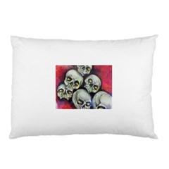 Halloween Skulls No.1 Pillow Cases