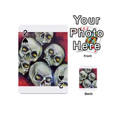 Halloween Skulls No.1 Playing Cards 54 (Mini)