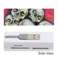 Halloween Skulls No.1 Memory Card Reader (Stick)