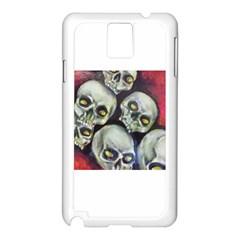 Halloween Skulls No 1 Samsung Galaxy Note 3 N9005 Case (white)