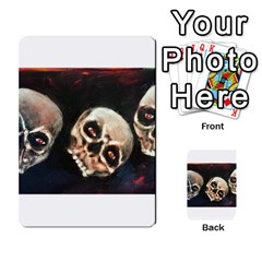 Halloween Skulls No  2 Multi Purpose Cards (rectangle)
