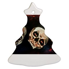Halloween Skulls No. 2 Ornament (Christmas Tree)