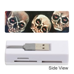Halloween Skulls No. 2 Memory Card Reader (Stick)