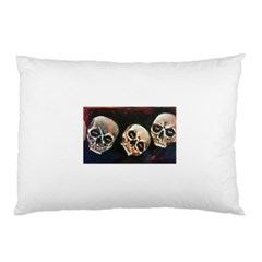 Halloween Skulls No. 2 Pillow Cases (Two Sides)