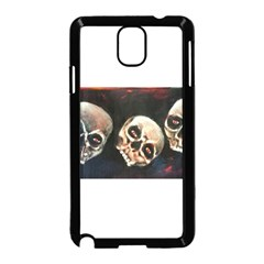 Halloween Skulls No  2 Samsung Galaxy Note 3 Neo Hardshell Case (black)