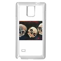 Halloween Skulls No. 2 Samsung Galaxy Note 4 Case (White)