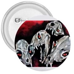 Halloween Skulls No  3 3  Buttons