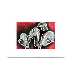 Halloween Skulls No  3 Plate Mats