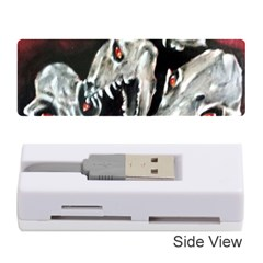 Halloween Skulls No. 3 Memory Card Reader (Stick)