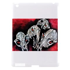 Halloween Skulls No  3 Apple Ipad 3/4 Hardshell Case (compatible With Smart Cover)