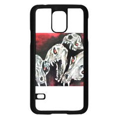 Halloween Skulls No  3 Samsung Galaxy S5 Case (black)