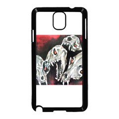 Halloween Skulls No. 3 Samsung Galaxy Note 3 Neo Hardshell Case (Black)