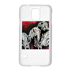 Halloween Skulls No. 3 Samsung Galaxy S5 Case (White)