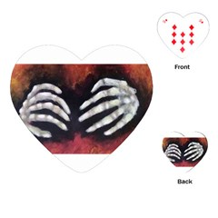 Halloween Bones Playing Cards (Heart)