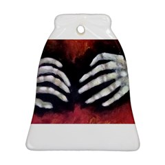 Halloween Bones Bell Ornament (2 Sides)