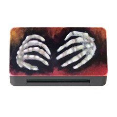 Halloween Bones Memory Card Reader with CF