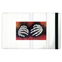 Halloween Bones Apple Ipad 2 Flip Case