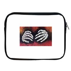 Halloween Bones Apple Ipad 2/3/4 Zipper Cases