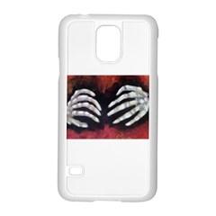 Halloween Bones Samsung Galaxy S5 Case (White)
