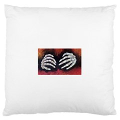 Halloween Bones Standard Flano Cushion Cases (One Side)