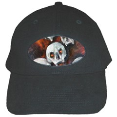 Halloween Skulls No  4 Black Cap