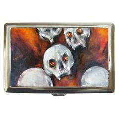 Halloween Skulls No  4 Cigarette Money Cases