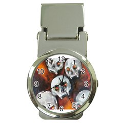 Halloween Skulls No  4 Money Clip Watches