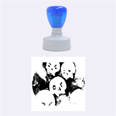 Halloween Skulls No. 4 Rubber Round Stamps (Medium)
