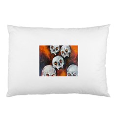 Halloween Skulls No. 4 Pillow Cases (Two Sides)