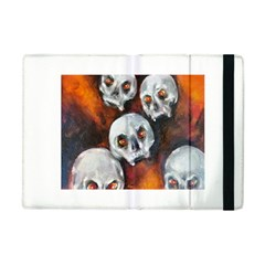 Halloween Skulls No  4 Apple Ipad Mini Flip Case