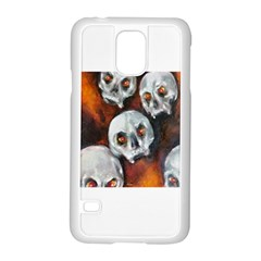 Halloween Skulls No. 4 Samsung Galaxy S5 Case (White)