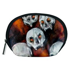 Halloween Skulls No  4 Accessory Pouches (medium)