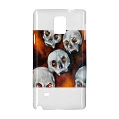 Halloween Skulls No  4 Samsung Galaxy Note 4 Hardshell Case