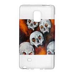 Halloween Skulls No  4 Galaxy Note Edge