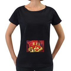 Holiday Candles  Women s Loose-Fit T-Shirt (Black)