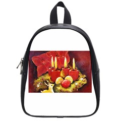 Holiday Candles  School Bags (small)