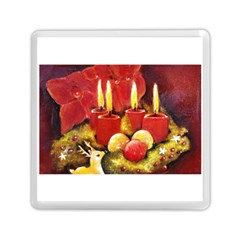 Holiday Candles  Memory Card Reader (Square)