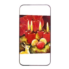 Holiday Candles  Apple iPhone 4/4s Seamless Case (Black)