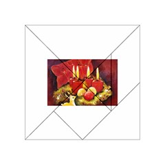 Holiday Candles  Acrylic Tangram Puzzle (4  X 4 )