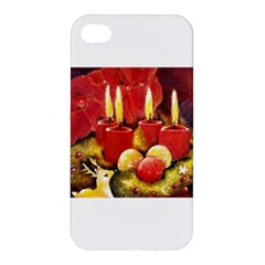 Holiday Candles  Apple Iphone 4/4s Premium Hardshell Case
