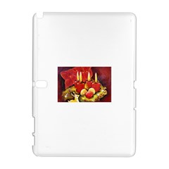 Holiday Candles  Samsung Galaxy Note 10.1 (P600) Hardshell Case