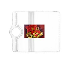 Holiday Candles  Kindle Fire HDX 8.9  Flip 360 Case