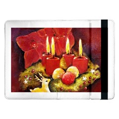 Holiday Candles  Samsung Galaxy Tab Pro 12.2  Flip Case