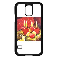 Holiday Candles  Samsung Galaxy S5 Case (black)