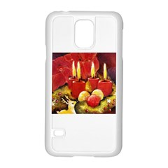 Holiday Candles  Samsung Galaxy S5 Case (white)